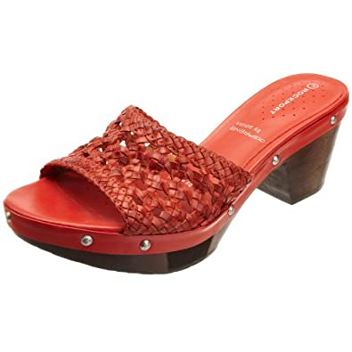 Rockport Women's Meja Clog Sandal Coral Casual K55996 4.5 UK