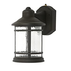 Click to buy LED Outdoor Lighting: Designers Edge 100,000 Hour Super Bright LED Dusk to Dawn Coach Lantern from Amazon!