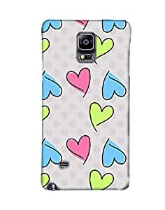 PickPattern Back Cover for Samsung Galaxy Note 4 SM-N910H