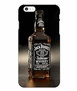 Make My Print Wine Printed Multicolor Hard Back Cover For Iphone 6 Plus