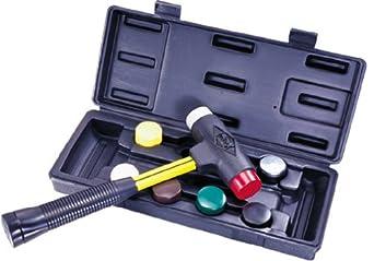 "Nupla SPI-156-S6 9 Piece Quick Change Impax Sledge Power Drive Set with Carrying Case, C Grip, 12.5"" Long Handle"