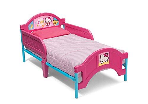 Delta Children Plasitc Toddler Bed, Hello Kitty