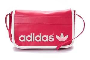 adidas Adicolour Mini Airline Women's Bag 25 x 6.5 x 15 cm Blaze Pink S13/Running White Size:25 x 6.5 x 15 cm