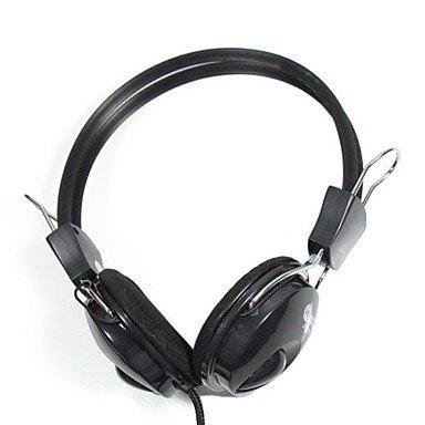 Jun Jeway Jh-0808 Stereo Music Gaming Headphones - Black (3.5Mm-Plug / 2M¡À0.3M-Cable)