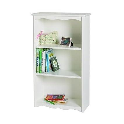 Little Colorado Traditonal Bookcase, Solid White