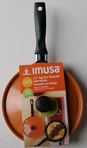 Imusa Egg Pan - Orange - 6.3