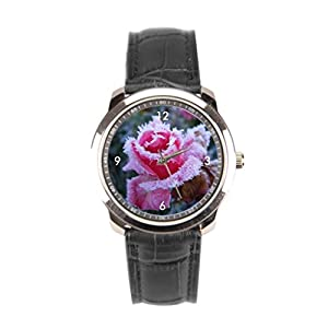 sanYout Wristwatches Cristal Leather Wrap Watches Ice New Wrist Watch Frozen