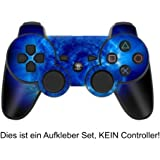 Skins4u Playstation 3 Controller Skin Aufkleber Sticker Set - Blue Giant [PlayStation 3]