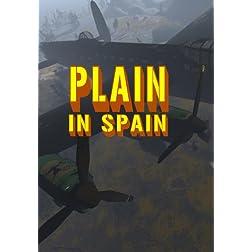 Plain in Spain
