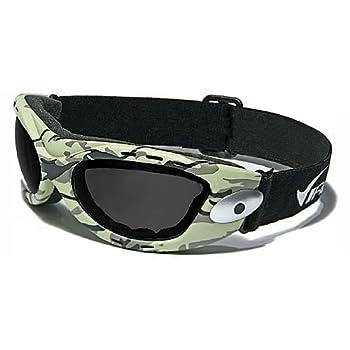 Virage Masque et Lunettes de Soleil - Multisports - Vtt - Moto - Voile - Motard / Mod. Camouflage / Taille Unique Adulte / Protection 100% UV400