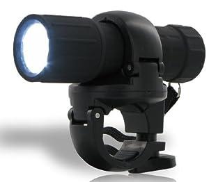 360 Grad drehbare Power LED Fahrradlampe mit 9 LEDs