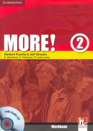 More!  2 Workbook with Audio CD: Level 2