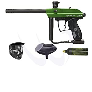 Buy Kingman Spyder Classic Series Xtra Paintball Gun - Green Entry Combo by Spyder