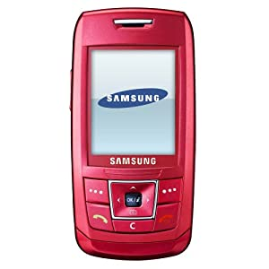 Samsung e250 Orange Pay As You Go Mobile Phone Including £10 Airtime  - Pink