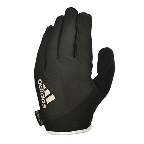 Adidas Guanti Full F. Es B/W Fit, Colore Bianco, Taglia L