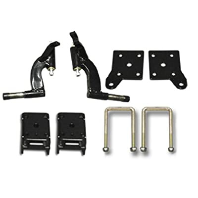 Golf Cart Lift Kit 6'' Spindle Lift will fit E-Z-Go TXT Golf Carts