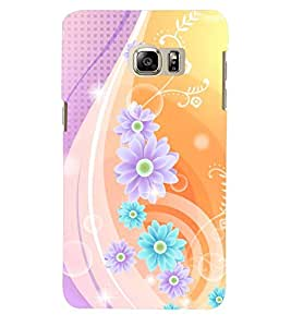 PRINTSWAG FLOWER PATTERN Designer Back Cover Case for SAMSUNG GALAXY NOTE 5 DUAL