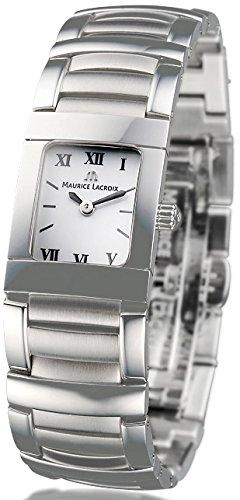Maurice Lacroix MI2012-SS002-160 - Reloj para mujeres, correa de acero inoxidable color plateado