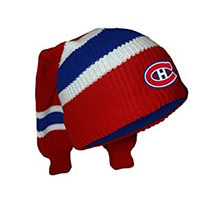 Montreal Canadiens Hockey Sockey Reversible Knit Hat - Size One Size