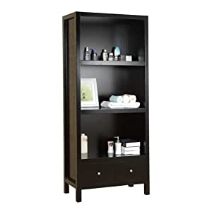 Virtu usa mdc 5432 barnum vanity side cabinet 31 8 inch for Bathroom cabinet 8 inches wide
