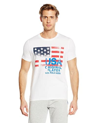U.S. POLO ASSN. T-Shirt Manica Corta [Bianco]