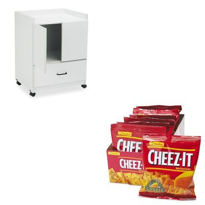Kitkeb12233Vrtfc830Gy - Value Kit - Vertiflex Mobile Deluxe Coffee Bar (Vrtfc830Gy) And Kellogg'S Cheez-It Crackers (Keb12233)