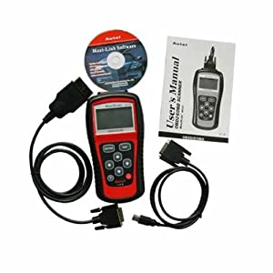 MS509 OBD2 Scanner Code Reader Live Data Cable OBD2