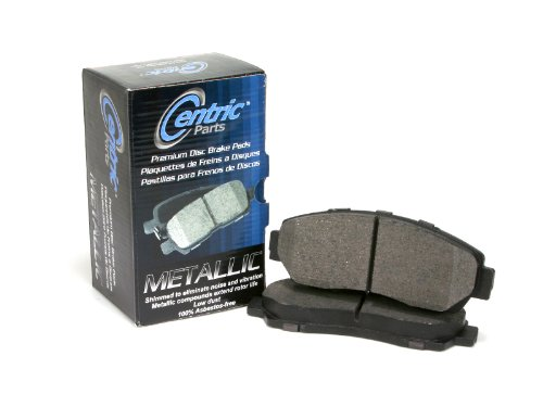 2006-2008 SUBARU FORESTER X L.L. BEAN EDITION All Centric Premium Metallic Front and Rear Brake Pads