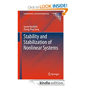 Stability and Stabilization of Nonlinear Systems Communications and Control Engineering eBook Iasson Karafyllis Zhong-Ping Jiang