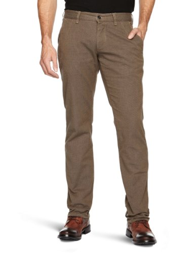 Selected Homme Jeans Three Mark Relaxed Men's Trousers Check W30 INxL34 IN
