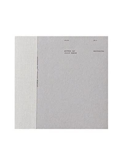 O-Check Design Graphics Medium Grey Craft Notebook