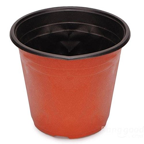 mark8shop-round-red-plastic-plant-grow-seeding-pots-garden-plant-pots