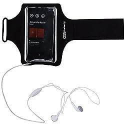 Kalenji 1796341 Smartphone Armband (Black)
