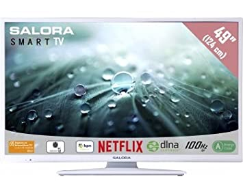 "Salora Salora 49LED9112CSW 49"" Full HD Smart TV Blanc écran LED"