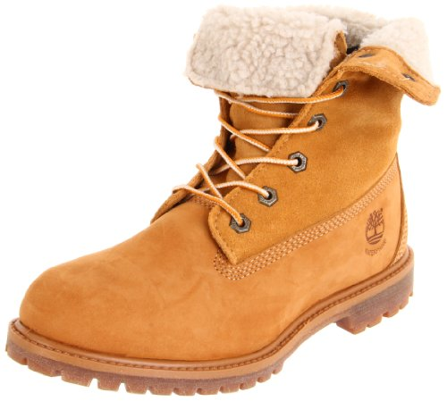Timberland Women's Teddy Fleece Fold-Down Boot