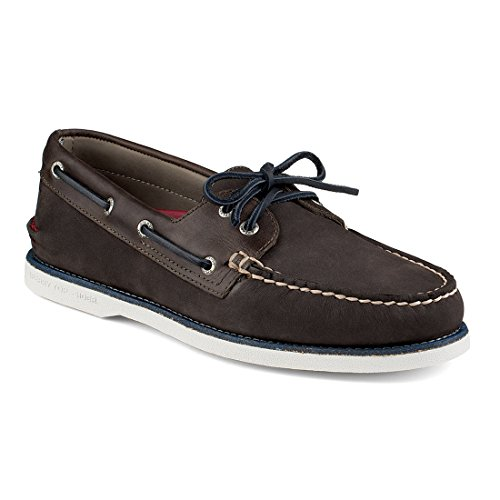 New Sperry Men's Gold Cup A/O Boat Shoe Grey Nubuck 9