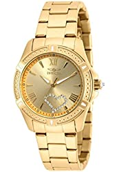 Invicta 20322 Angel Gold Quartz Gold Stainless Steel Watch