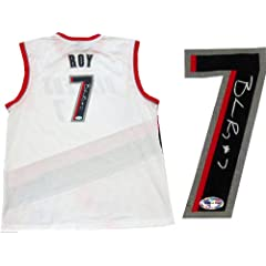 Brandon Roy Autographed Portland Trail Blazers Replica Jersey by Hollywood+Collectibles