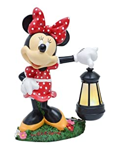 Woods International Disney Garden Led Statue