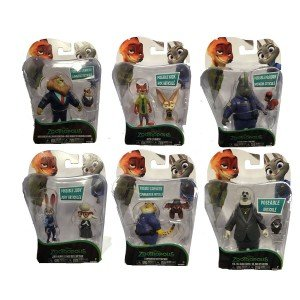 TOMY DISNEY ZOOTROPOLIS PERSONAGGI BASE