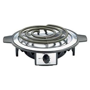 Countertop Single Burner : ... Single Burner Hotplate: Electric Countertop Burners: Kitchen & Dining