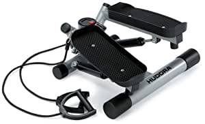 Hudora SR 4.0 twist lateral Stepper avec extenseurs