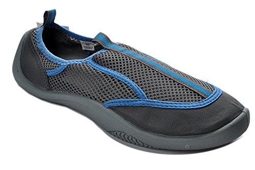 Tosbuy Slip Wave Pool Beach Aqua,yoga,exercise,outdoor,athletic,skiing,water Shoes(eu36,blue)