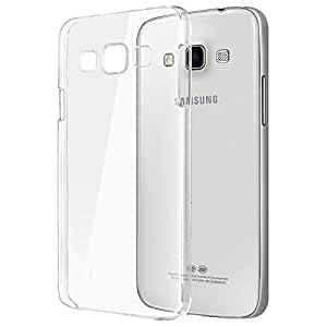 WebKreature Stylish Silicone Transparent Back Cover for Samsung Galaxy E5