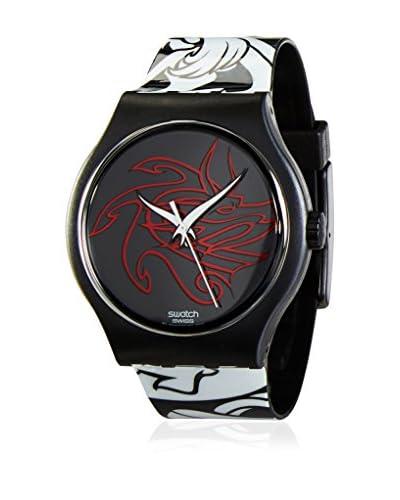 Swatch Reloj de cuarzo Fleur Noir SUDB114  34 mm