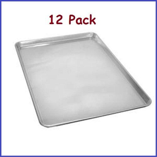 (12 Pcs.) Full Size Aluminum Sheet Pan 18