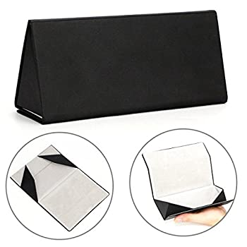 Folding Eyeglasses Case,Ezeso Portable Ultralight Retro Spectacles Box For Men Women