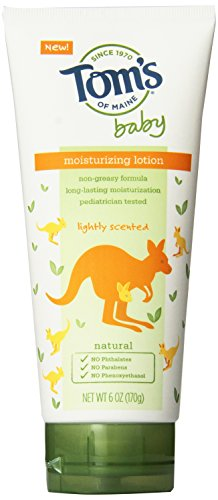 Tom's of Maine Baby Moisturizing Lotion, Lightly Scented, 2 Count