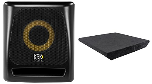 Krk 8s v2 8 109w powered studio subwoofer w class d amp for L ported box dimensions