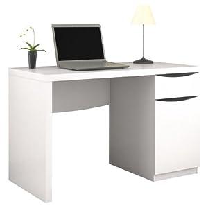 Amazon Com Bush Furniture Montrese Computer Desk With